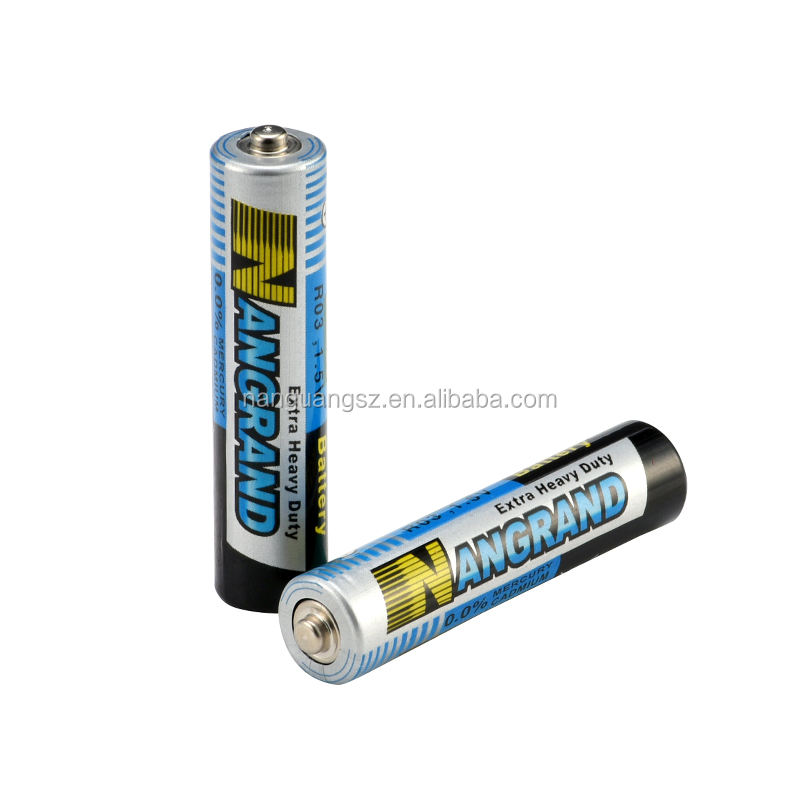 1.5V r03 carbon zinc aaa dry battery