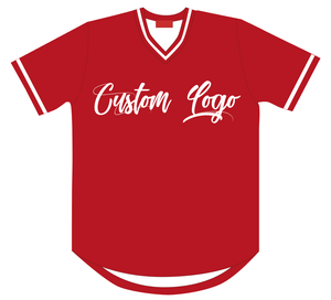 야구 Jersey 빈 키 빈 V 넥 100% Polyester Custom Logo Customized Design