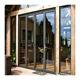 Door Door Aluminum Patio/balcony Double Glass Exterior Accordion Folding Door