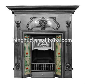cast iron fireplace wood burning stove fireplace