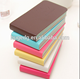 Custom size pu leather mini memo notebooks