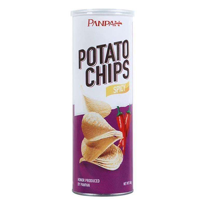 Spicy Halal Ready To Eat Foods Halal Potato Crisp Cracker