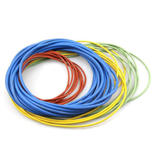 Elastic rubber O ring with various colors and specifications
