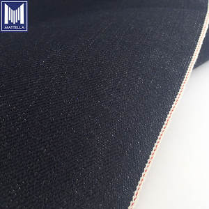 wholesale rolls of 100% organic long staple cotton warp slub 17oz selvedge denim fabric for man jeans jackets