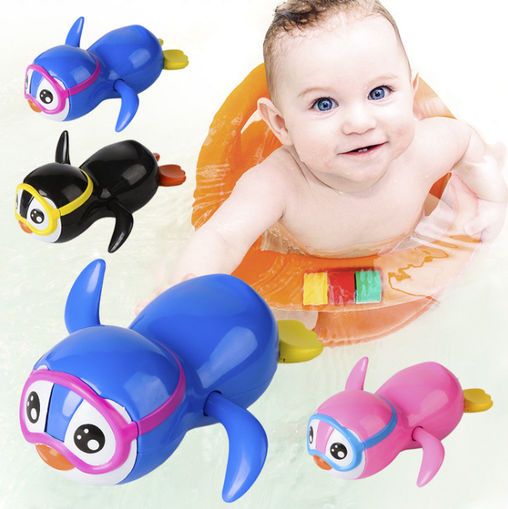 ND/_ DOLPHIN TOY SQUIRT WATER FISH SWIM OCEAN PLAY BABY KIDS CHILD BATH FLOAT G
