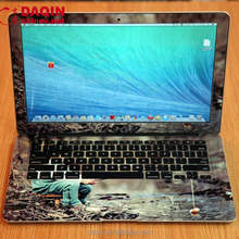 laptop full body skin design with daqin laptop sticker design system