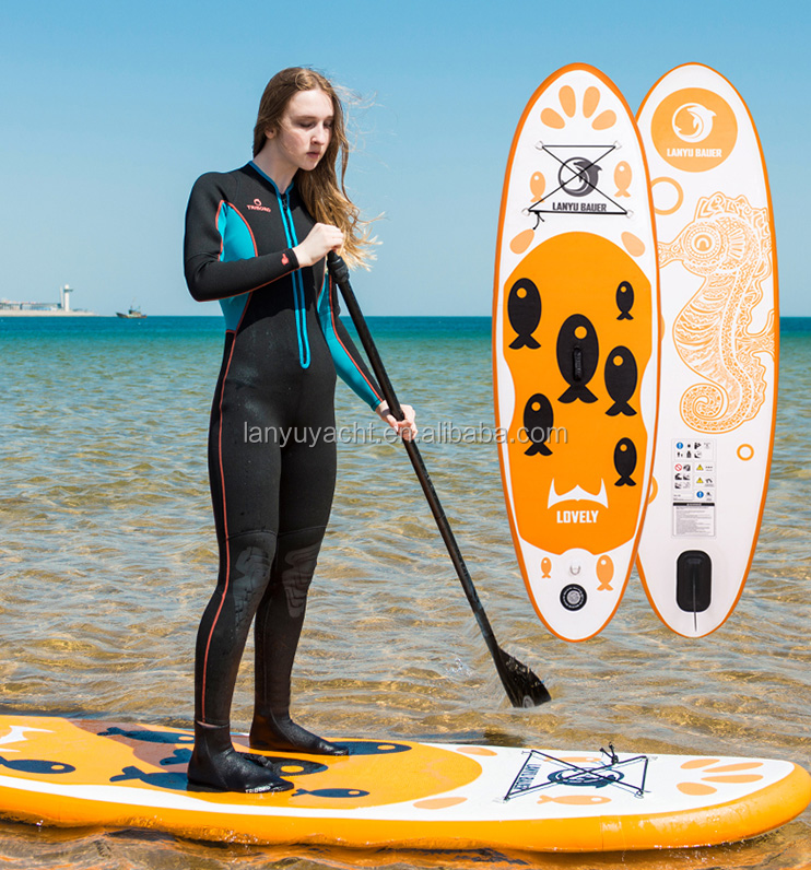 Fabriek rvs D-ring Opblaasbare Sup Surfen Stand Up Paddle Boards