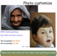 100% Handmade Art Customized Realistic Portrait Canvas Oil Painting from Photo