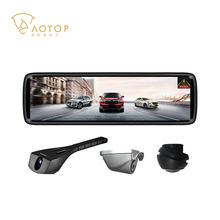 Android car black box rearview mirror with Parking Camera with Dashcam, 8.88 Inch Screen, GPS, wifi