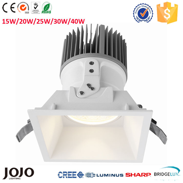 15w dimmable כיכר led <span class=keywords><strong>downlight</strong></span>