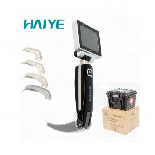 USB 8GB Portable rechargeable electronical endoscope difficulty airway intubation Medical device Video laryngoscope