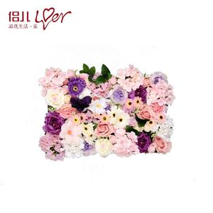 rose decorative artificial flower wall wedding backdrop