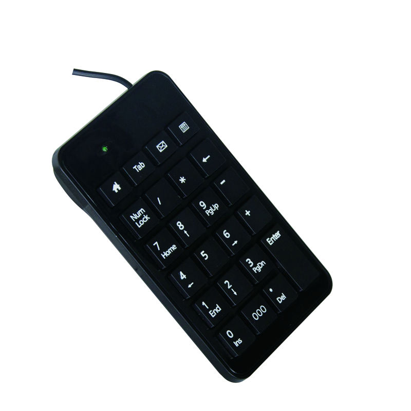 2020 new product Keyboard Manufacturer OEM/ ODM USB Port Flexible Cable wireless Numeric Keyboard