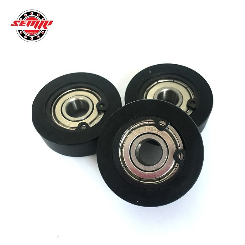 PU Bearing 6000 Rubber Plastic-coated Roller Bearing