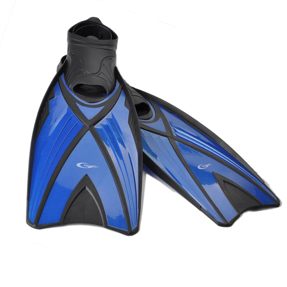 Wholesale adult pocket snorkeling full foot diving fins