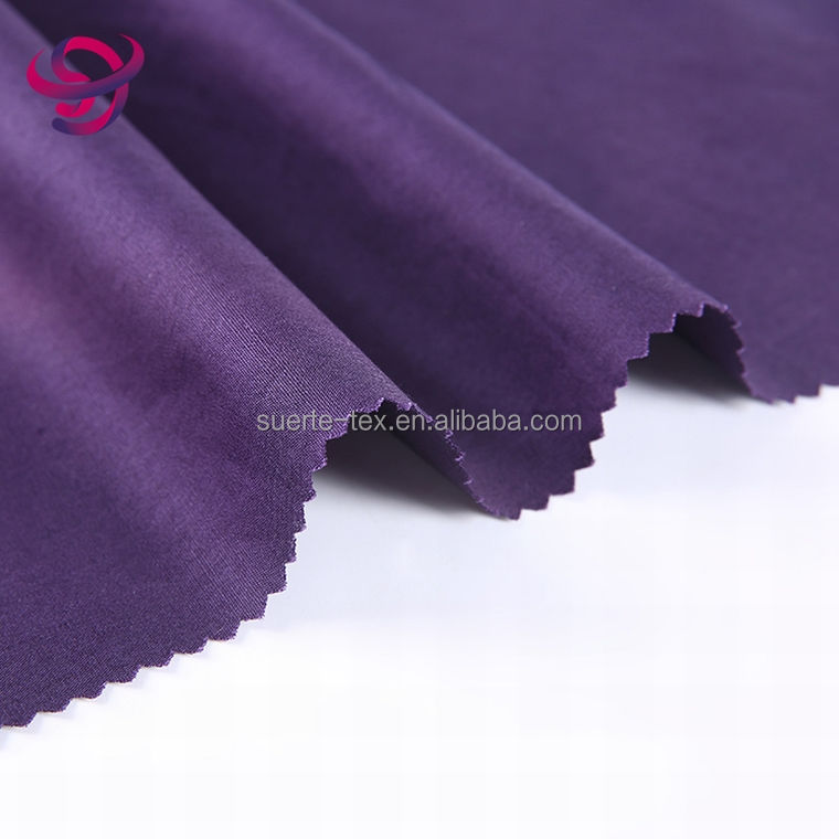 breathable italian 100% organic cotton shirting fabric
