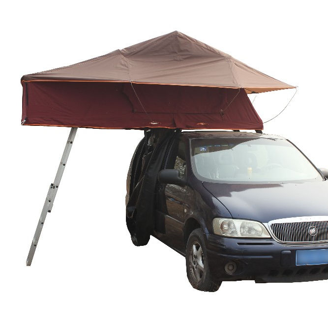 Upgraded Soft Roof Top Tent For Outdoor Camping WIth Extension