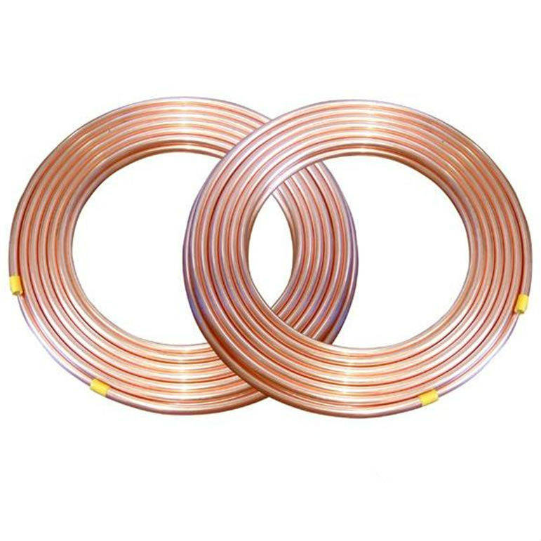 pancake coil copper capillary pipe and tube