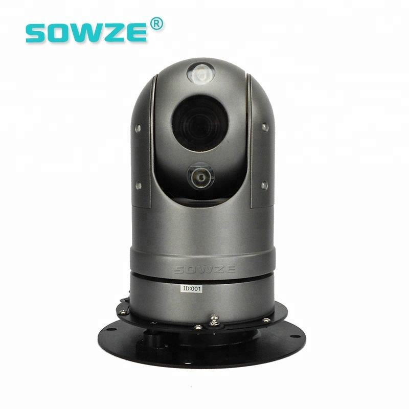 1.3MP 960P 36X Vehicle Roof Mini PTZ Dome Camera for Robotic Vehicle