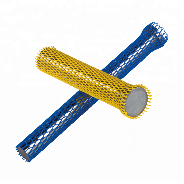 Plastic net for metal parts MCN 6 Yellow