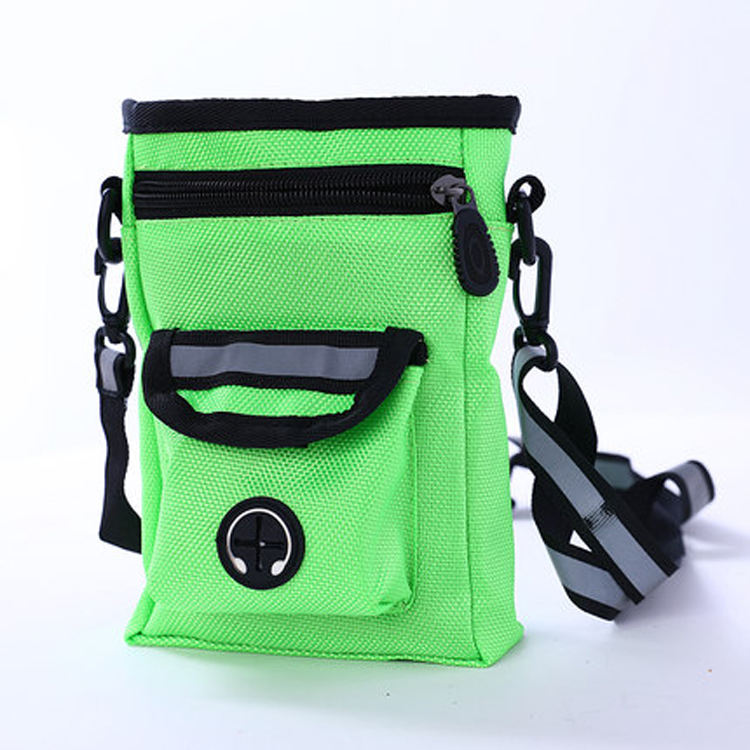 Small Portable Detachable Dog Training Treat Bags Doggie Pet Feed Pouch Puppy Snack Reward Waist Bag Training & Behaviour Aids