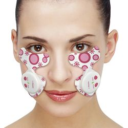 anti-wrinkle machine anti wrinkle pads EMS function used for eye cheek