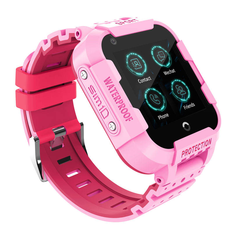 Square Smartwatch Hot Selling 2019 Smart Children Gps 4G Baby with Call Answer ios Tracker Kids Watch
