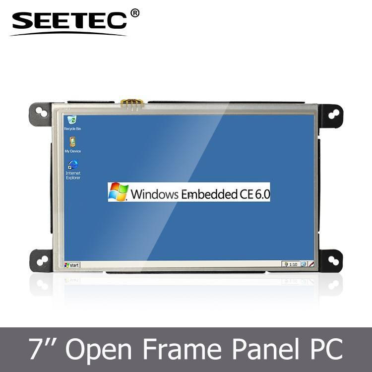 """7"""" industriale touch screen integrato samsung cpu usb porta lan rj45 ingresso opzionale 800x480 <span class=keywords><strong>pixel</strong></span> tablet pc wifi"""