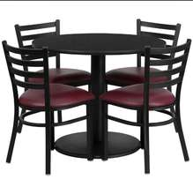 used cheap round hotel restaurant tables and chairs for sale philippines