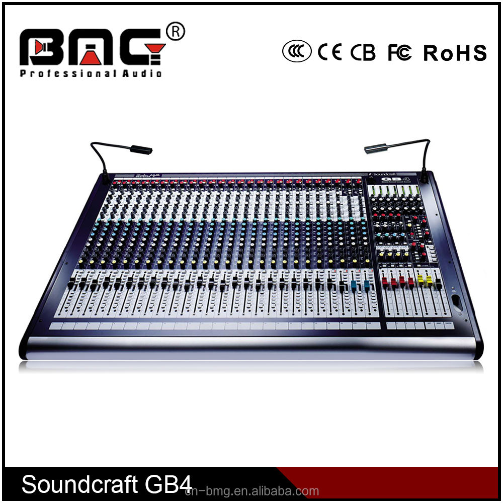 Harga Pabrik Gb-8 24 TV Soundcraft Mixer Audio Digital