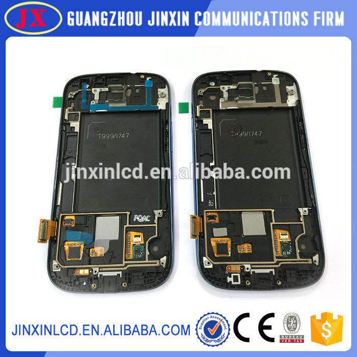 جودة العلامة التجارية الجديدة oem قوانغتشو s3 t999 لسامسونج غالاكسي شاشة lcd تعمل باللمس