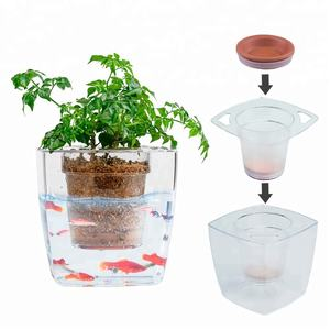 Bloempot aquarium pot planter home hydrocultuur nederlandse pot