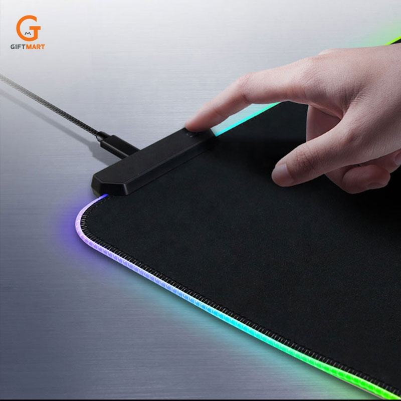 RGB Oversized Glowing 7 Mode LED Soft Gaming Mouse Pad Large, Extended Mousepad
