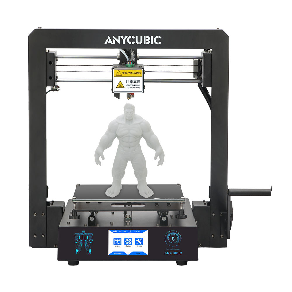 Anycubic Mega S 3d printer EU US warehouse shipping build size 210*210*205mm FDM 3 D printer