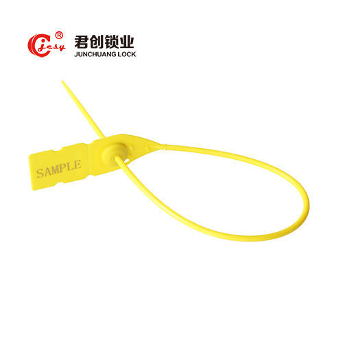 PP cable tie plastic security seal with barcode number JCPS002