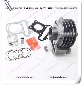 Hohe qualität 50cc GY6 Zylinderkopf Kolbenringe Set made in china