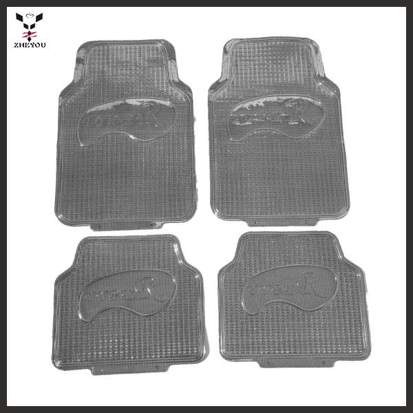 Choose Edging Black Carpet Universal Car Mats Fits Citroen C2