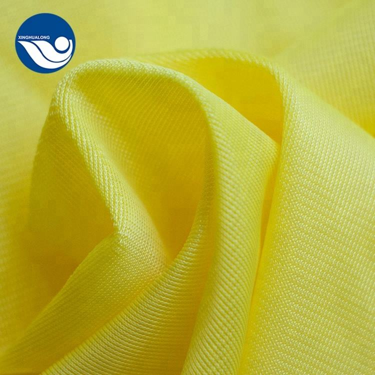 100% polyester garment lining material knitted dazzle fabric