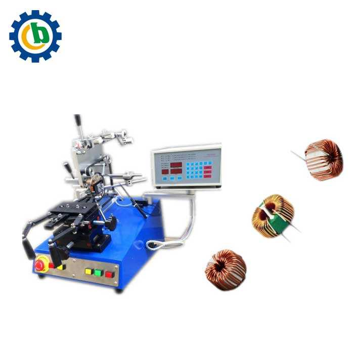 Automatic small transformer toroidal inductor coil winding machine for sale with low price