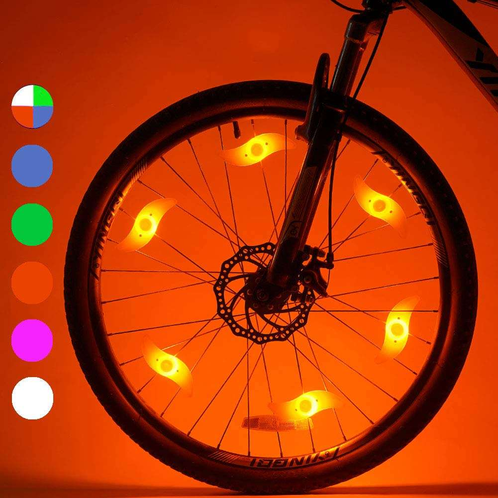 Multicolor Sport Outdoor Cycling Led Bike Spoke Light Wheel LED Lamp Bicycle Light - Batteries Included