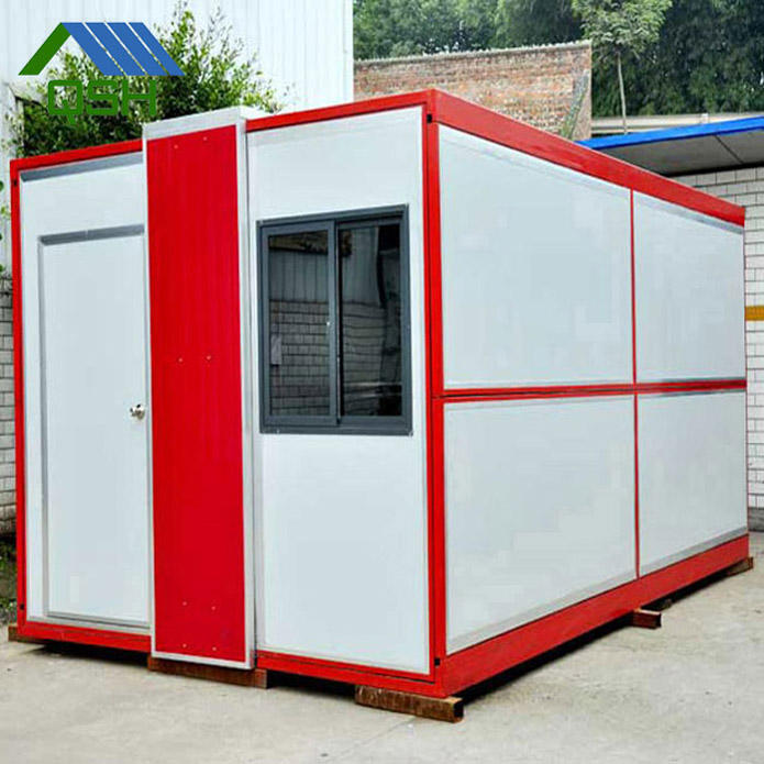 15ft/10ft/10' prefab modular collapsible portable fast food container shop kiosk dimensions plastic design