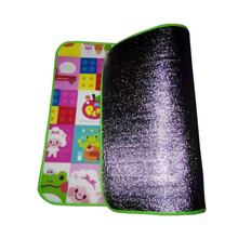 Factory supply eco friendly cheap price double or single side durable EPE foam the thin kids picnic mat