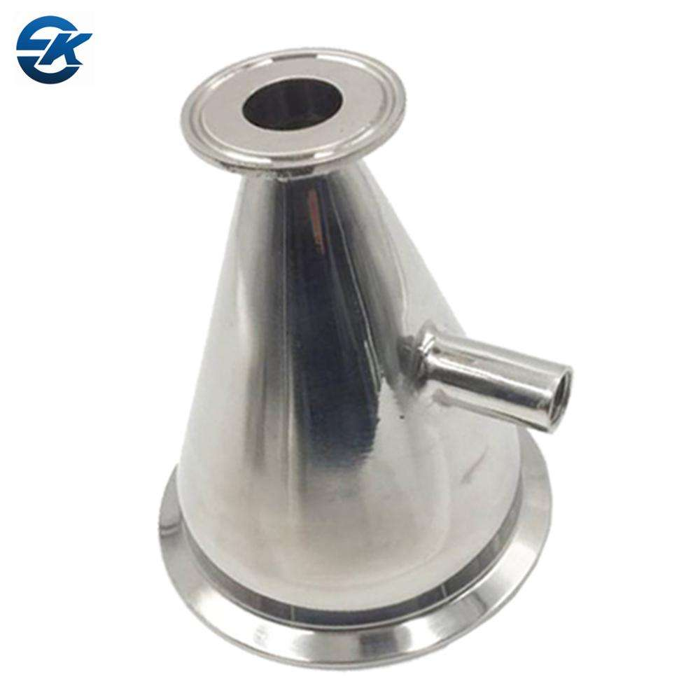 Stainless Steel SS304 Foog grade Tri Clamp Concentric Reducer With Nipple fitting Reducer Union Adapter Joint