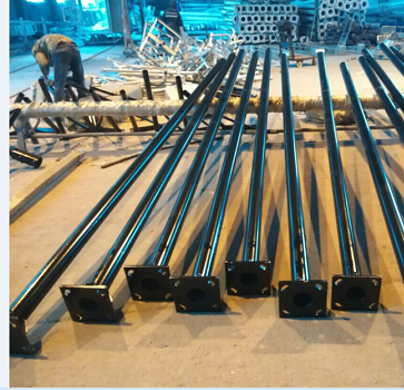 factory pole outdoor lighting post residential lamp posts