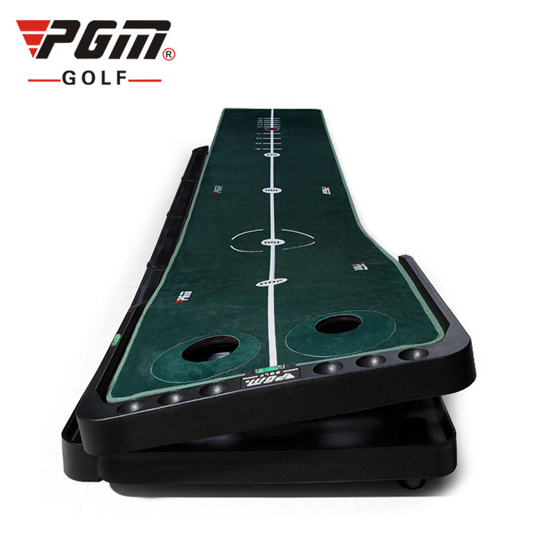 PGM Slope Adjustable Black Plastic Frame Carpet Golf Putting Mats Putting Green