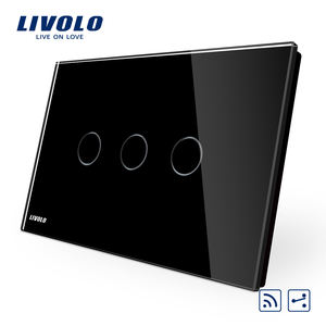 터치 빛 Switch Smart Livolo 스 3 gang 2 way Remote VL-C903SR-12