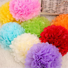 Decorative paper artificial flower with various size