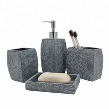 China Hand Painted Cement Bathroom Fittings and Accessories