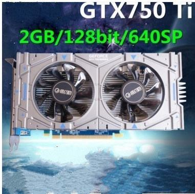 Hot sell GTX 750TI 2G GDDR5 128bit PCI Express 3.0 16X Gaming Video Graphics Card,PK GTX1050 good condition,100% tested good!