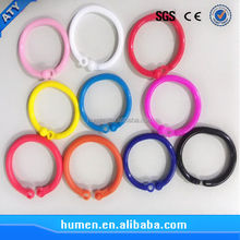 plastic book binder rings
